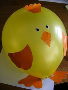 balloon chick ahhhh