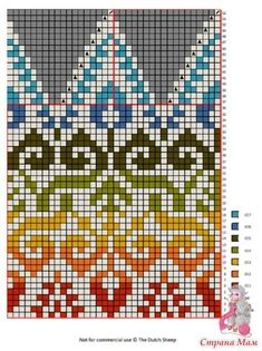 Best Ideas For Knitting Fair Isle Tricot Tapestry Crochet Patterns, Fair Isle Knitting Patterns, Fair Isle Pattern, Knitting Charts, Knitting Stitches, Knitting Machine, Jersey Jacquard, Love Knitting, Vintage Knitting
