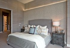 Bedroom3 Reshaping Design Through Lighting: Cozy Luxury Home by Cornerstone Architects