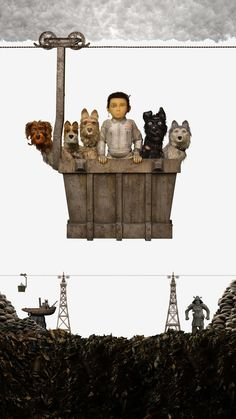 Isle of Dogs 2018 Poster Perros Wallpaper, Dog Wallpaper, Isle Of Dogs Movie, Wes Anderson Movies, Fantastic Mr Fox, Movie Shots, Dog Poster, Movie Wallpapers, Film Stills