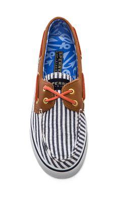 sperry striped