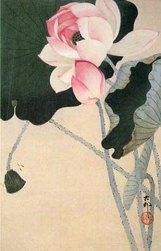 japanese print lotus | April 22, 2010