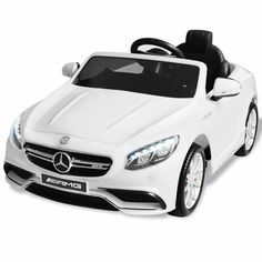 Kinderfahrzeuge vidaXL Elektroauto Mercedes Benz AMG S63 Rot 12V Kinderauto Kinderfahrzeug#