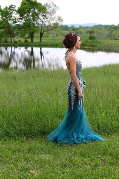 Brittany's Prom 2016!  Photography: Studio2go by Dawn Owen. Single, prom, wedding, poses.