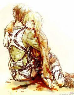 eren armin Shingeki no Kyojin Attack on Titan