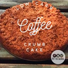 Just Give Me Low Carb Coffee Crumb Cake Am I allowed to say how much I love this recipe? It's coffee cake people! Not just any coffee cake, a low carb coffee crumb cake! I don't know about you, but I have always loved coffee cakes. Cinnamon Crumb Cake, Cinnamon Coffee, Low Carb Deserts, Low Carb Sweets, Keto Foods, Healthy Foods, Healthy Eating, Healthy Desserts, Paleo Diet