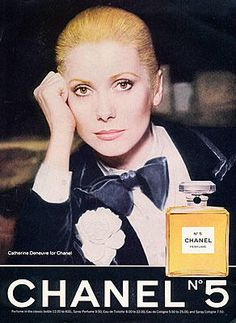 Catherine Deneuve, Chanel No. 5 (1975). #ItPaystoAdvertise