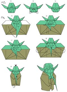 Categories Culture Geek Insolite Tags Cinema Origami Star Wars Yoda