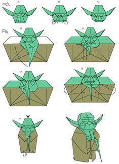 Faire Yoda en Origami – Printf
