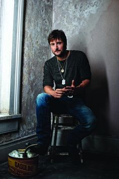 Eric Chuch Country Music Fans Favorite In Casual Look For His Fans #EricChurch #Country #Music