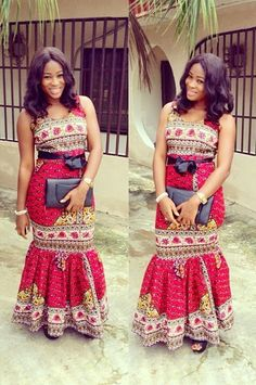 Ankara look that feel modern & fashion forward!Ankara fabrics are versatile, colourful and dominate red carpet and make fashion statements all the time and the weekends are the perfect time to show off bold styles.From dresses, statement skirts, trousers, matching sets and more,...