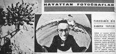 OĞUZ TOPOĞLU : panoramik bir kamera yapıldı 1963 hayat dergisi