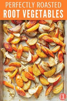 Perfectly roasted veggies like carrots, turnips, and golden beets make an easy side for weeknight dinners. | Cooking Light