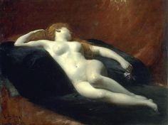 Charles Auguste Émile Durand (Carolus-Duran) - Danaë