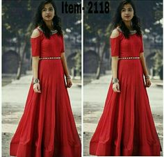 For more detail Whats-app / Call me 6353751540 Re-seller Are Most Welcome. For Daily New Update (Ping My Whatsapp) Western Gown, Western Dresses, Indian Dresses, Indian Outfits, Indian Clothes, Designer Gowns, Indian Designer Wear, Frocks For Girls, Girls Dresses