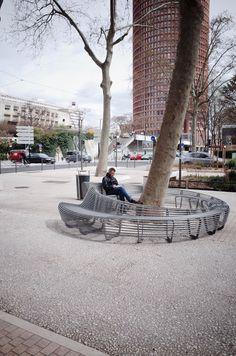 TF URBAN: The Circular Bench
