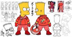Bartkira  Bart Simpson