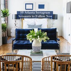 See more images from 10 atlanta instagrams to follow for #interiorinspo! on domino.com