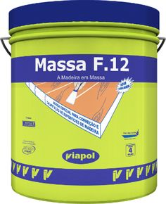 Viapol - Massa F12 (massa mara reparadora de - quase - tudo!)