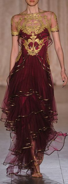 Marchesa at New York Fashion Week Spring 2013