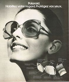 Image result for 1970s eyewear ads