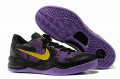 promo code eb660 e3392 Cheap Nike Kobe 8 Shoes Purple Gold Black on www.cheapkobe.org New Jordans