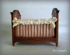Miniature Baby Crib