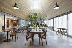 The Woodspeen Restaurant and Cookery School by Softroom | Yatzer