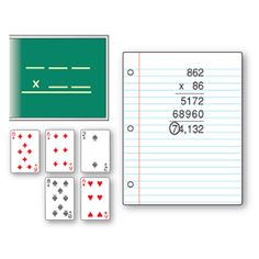 """MATH GAME~ """"Lucky Seven"""" is a great way to practice multiplication! One studen. Math 5, Math Multiplication, Guided Math, Teaching Math, Teaching Ideas, Math Night, Math Games For Kids, Math Measurement, Math School"""