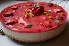 Cheesecake alle fragole versione vegan