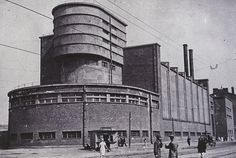 Erich Mendelsohn red banner factory Leningrad first half of 1930s