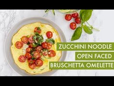 #EverydayInspiralized: Open Faced Summer Omelette with Spiralized Zucchini   Inspiralized