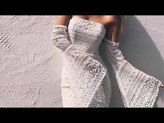 Party Dresses Uk, Wedding Dresses, Crochet Needles, Crochet Fashion, Crotchet, Loom, Macrame, Anna, Videos