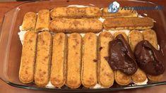 Csokis rakott babapiskóta - Receptneked.hu