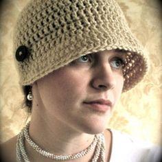 Flip Flapper Crocheted Hat