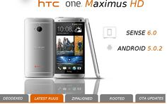 Update HTC One M7 to Android 5.0.2 (build LRX22F) and Sense 6.0 with MaximusHD ROM