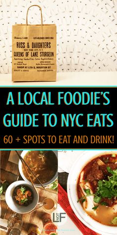 While its hard to eat poorly in NYC this local foodie's guide will give you over 60 delicious places to eat and drink your heart out. This list has been curated over 7 years of living in New York City and will not disappoint! | LOST NOT FOUND | #NYCWhereToEat #NYCFoodGuide #NYCEats