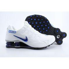 Nike Shox NZ White Black Blue Men Shoes  NIKE 181  -  79.59   Nike Free 0e520ffed