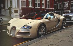 Veyron from Dubai with a red custom interior.