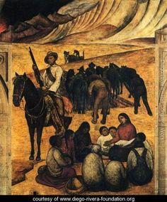 The New School 1923 - Diego Rivera - www.diego-rivera-foundation.org