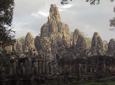 Angkor temples....never had Cambodia on my bucket list before, but this picture might change my mind