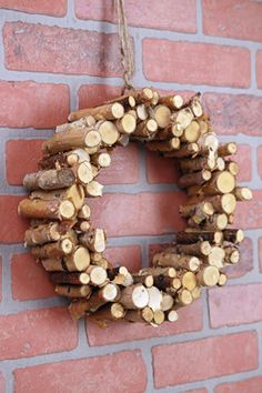 14.00 SALE PRICE! Bring the outdoors in with this birch wreath. Made with natural materials, this is a holiday wreath that goes beyond the front door. This n...