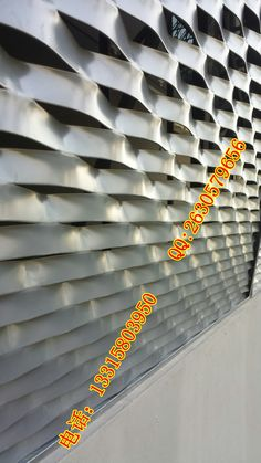 Powder coated Aluminum Expanded Metal Facade