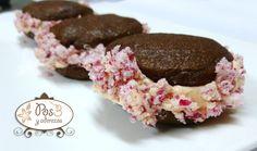 Galletas de Chocolate rellenas de ButterCream de Menta y Pepermint.