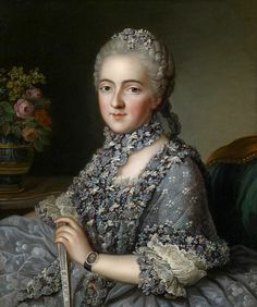 Portrait of a lady by Guillaume Voiriot (1713-1799)