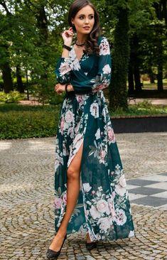 Najlepsze obrazy na tablicy Sukienki w kwiaty (36