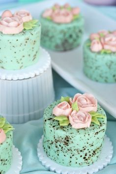 How to Make The Most ADORABLE Mini Speckled Egg Cakes - angean angean