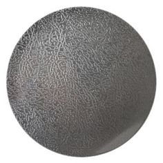 Gray Black Leather Texture Design Plate