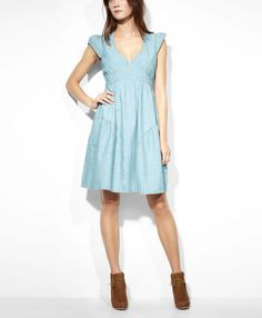 Levi's Summer Dress - Spring Blue    $78.00