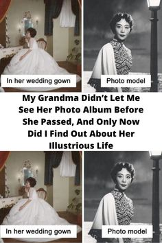 My #Grandma Didn't Let Me See Her #Photo Album Before She Passed, And #Only Now Did I Find Out About Her #Illustrious Life
